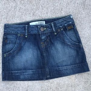 Denim GUESS Mini Skirt sz 28
